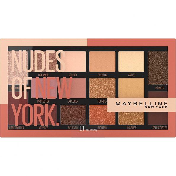 پالت سایه جدید میبلین مدل Nudes Of New York